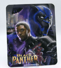 BLACK PANTHER - Glossy Fridge or Bluray Steelbook Magnet Cover (NOT LENTICULAR)