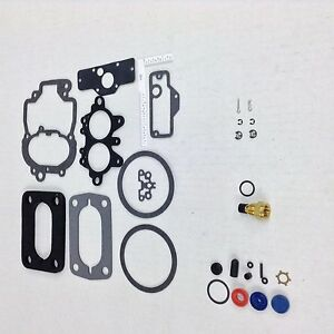 HOLLEY 2 BARREL 2280 CARBURETOR KIT CHRYSLER DODGE PLYMOUTH 225-273-318 V6 & V8