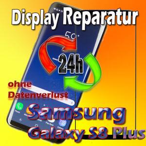 24 Stunden Display Reparatur Samsung Galaxy S8 Plus SM-G955F Frontglas Austausch
