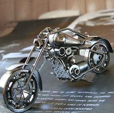 Handmade Harley-Davidson 26CM Iron Motorcycle Model Decoration Xmas Gift