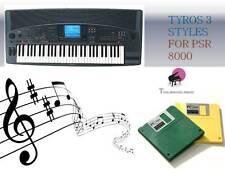 PSR 8000  Floppy Disk set + ''TYROS 3 STYLES'' NEW
