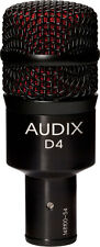 Audix D4 Kick/Bass/Tom Drum Microphone     D 4