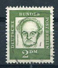 ALLEMAGNE BERLIN, 1961 timbre 192, CELEBRITES, G. HAUPTMANN, oblitéré
