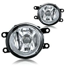 Clear fog light + wiring kit fit for 2013 Toyota Tacoma (Set)