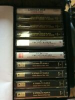 Lot of 10 cassette tapes  Lawrence Welk, Tchaikovsky, and Great Stars of the 40'