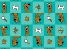 FABRIC BLOCK  SCOOBY DOO WHERE ARE YOU  CARTOON CAMELOT COTTONS  MYSTERY SOLVED