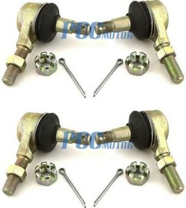 LOT 2 Tie Rod End Kit for Suzuki LTZ400 LT-Z400 Quadsport 2004-2008 TE06X2