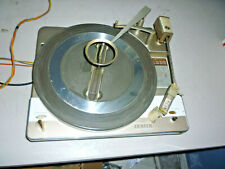 ZENITH 54217 Record Player Pulled From Console Unique 45 Adapter As/Is