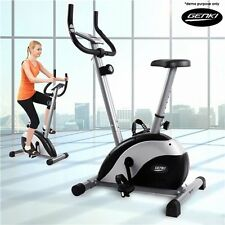 NEW 8 Level Magnetic Resistance Genki Fitness Workout Exercise Bike-5kg Flywheel