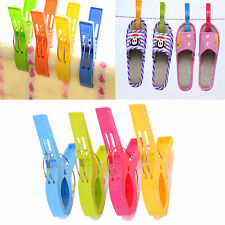 4pcs/Set  Beach Towel Clips in Fun Bright Colors - Prevents Towels Blowing Away