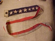 ORIGINAL WWII USN SHIP COMMISSIONING PENNANT / FLAG