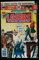 OUR FIGHTING FORCES #168 The LOSERS (1976 DC Comics) ~ FN/VF Comic Book