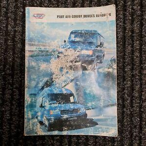 LDV PILOT AND CONVOY DRIVERS HANDBOOK