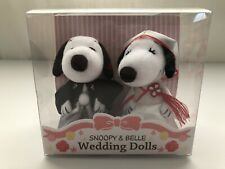 Snoopy and Belle Wedding Dolls Minis