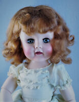 """1950s Madame Alexander Madeline 17"""" Ball-Jointed Doll, Rare Red Hair"""