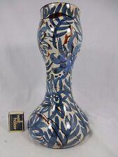 Seltene handbemalte Gerhard Liebenthron Keramik art pottery vase GL 88   30,5 cm