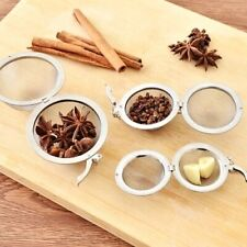 Tea Tools Stainless Steel Sphere Spice Tea Ball Strainer Mesh Tea Infuser Filter