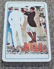 Meli & Ci - Napoli - Vintage Sealed Pack of Playing Cards