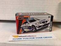 BMW M5 Police * WHITE * Matchbox Power Grabs * YB18