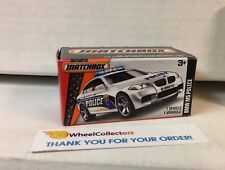 BMW M5 Police * WHITE * Matchbox Power Grabs * YA16