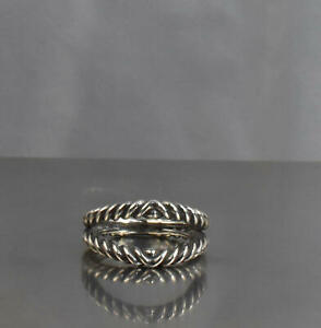 CrazieM Sterling 925 Silver Vintage Southwest Estate Ring Size 6.25 5.8g x48