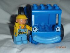 "Duplo ""LOFTY the Crane"" (missing the crane parts) (FREE Bob the Builder figure)"