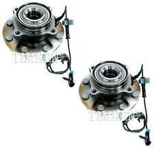 Pair Set 2 Front Timken Wheel Bearing And Hub Kits for Chevrolet GMC Hummer 4WD