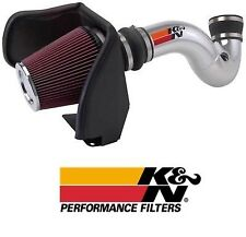 K&N 77 Series Polished Air Intake System fits 2005-2006 Chevy GMC & Cadillac V8