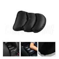 Black Auto Armrest Storage Console Box Top Mat Liner Pad Cover Cushion Universal