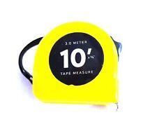 New listing Handy 30 Meter 10ft Yellow Plastic Tape Measure Belt Hook