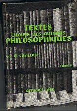 Textes Choisis Des Auteurs Philosophiques Tome 2 : Logique Et Philosophie .....
