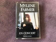 cassette audio MYLENE FARMER en concert .k7 (d1)