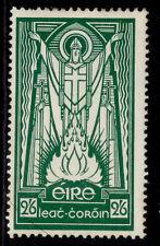 More details for ireland gvi sg123, 2s 6d emerald green, m mint. cat £40. ordinary paper
