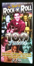 BEST OF ROCK'N'ROLL - 100 SUCCES VERSION ORIGINALES - COFFRET  4 CD NEUF