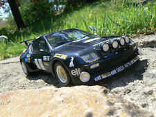 alpine a310 groupe 5 rallye gitanes 1/18 otto ottomobile ottomodels boxed