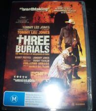 Three Burials (Tommy Lee Jones) (Australia Region 4) DVD – Like New