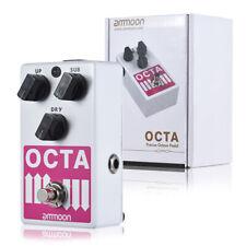 ammoon OCTA Electric Guitar Precise Polyphonic Octave Generator Effect Pedal US