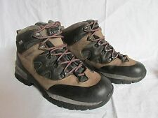 La Sportiva GTX Nubuck Nylon Black Tan Hiking Trail Boots  Men's US 10 EU 43.5