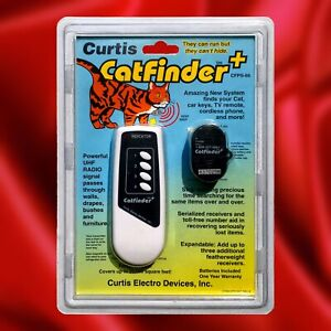 Curtis Cat Finder+ ~  Find Missing Pets, Keys, Remotes, Phones & More NIP