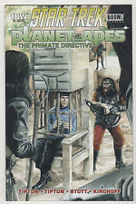 Star Trek Planet of the Apes Primate Directive #4 Reg & Sub LOT (2) 2015 VF/NM