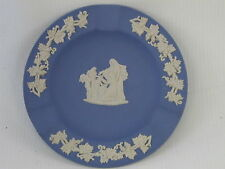 Wedgwood Jasperware Ash Tray Jasper Ware Blue Cupid as Messanger? Ashtray 4 3/8""