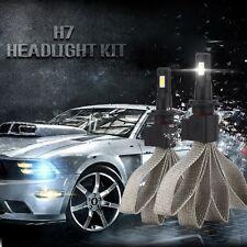 2x S7 60W H7 Car LED Headlight Kit Bulb Conversion COB Lamp 6400LM 6000K White