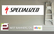 Specialized bicyclettes banner pvc signe pour atelier, garage, specialized vélo