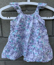BabyGap Gap Girls Tank Top Blouse Floral Sleeveless Size 5 Years 5T Shirt