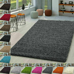 New Modern Thick Shaggy Large Rugs Hallway Runner Living Room Carpet Deep Pile
