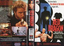 RED DRAGON (aka MANHUNTER) -VHS -PAL -NEW - Never played! - Original Oz release