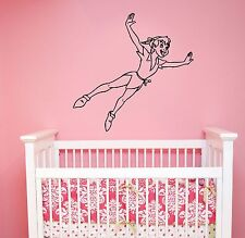 Peter Pan Wall Decal Vinyl Sticker Disney Movie Cartoon Art Nursery Decor pitp2
