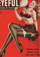 VINTAGE PETER DRIBEN PIN-UP GIRL EYEFUL A2 CANVAS GICLEE PRINT POSTER 3