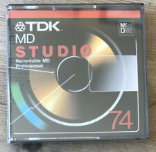 More details for (g) tdk md studio 74min minidisc for reference sound recording & music transfer
