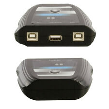 2-Porta/Vie USB Switch Box-PC Hub Selettore Splitter-Condividere i dispositivi STAMPANTE camerer